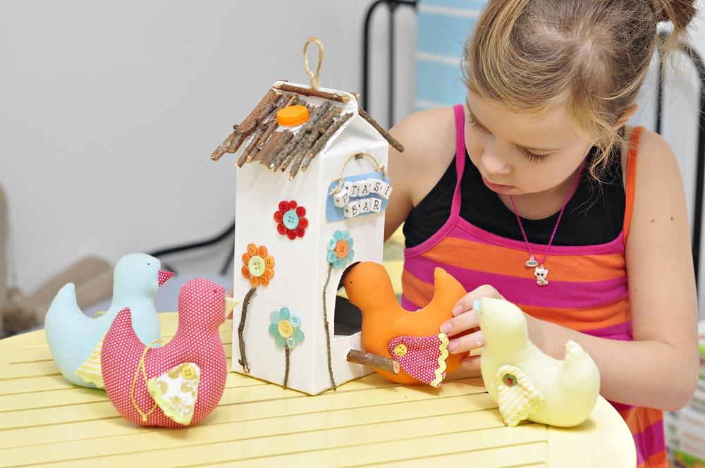 karmnik dla ptaków projekt