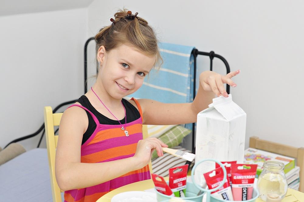 karmnik z butelki -pomysł na diy
