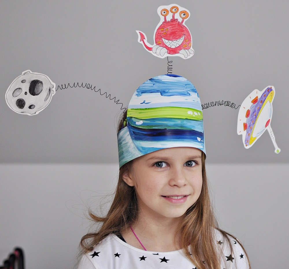 przebrania karnawałowe do zrobienia w domu - opaska na głowę