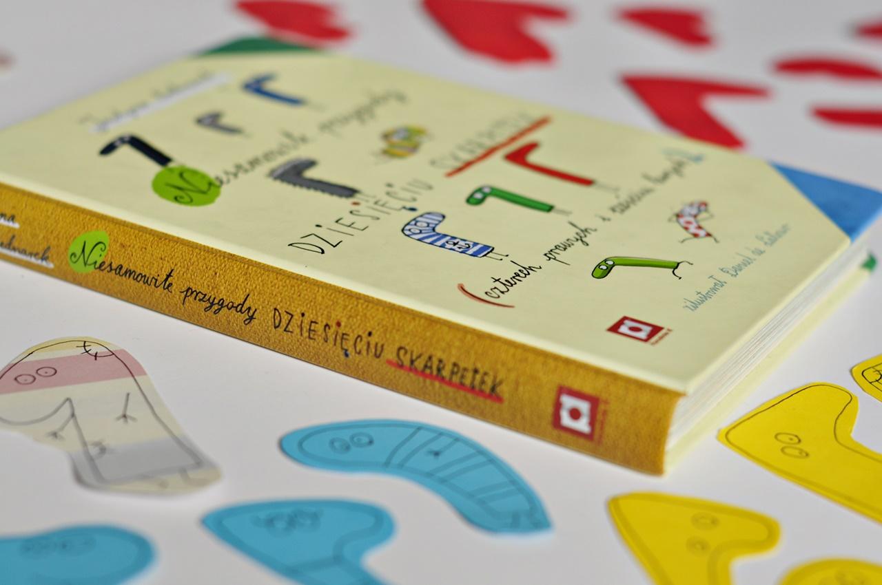 """""""Niesamowite przygody dziesięciu skarpetek"""" – dokąd nas zaprowadziło przeczytanie tej rewelacyjnej książki :)"""