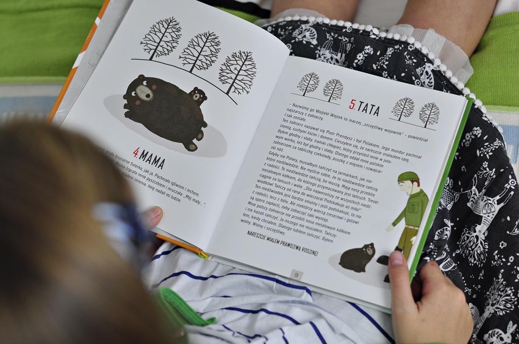 książka Wojtek żołnierz bez munduru środek