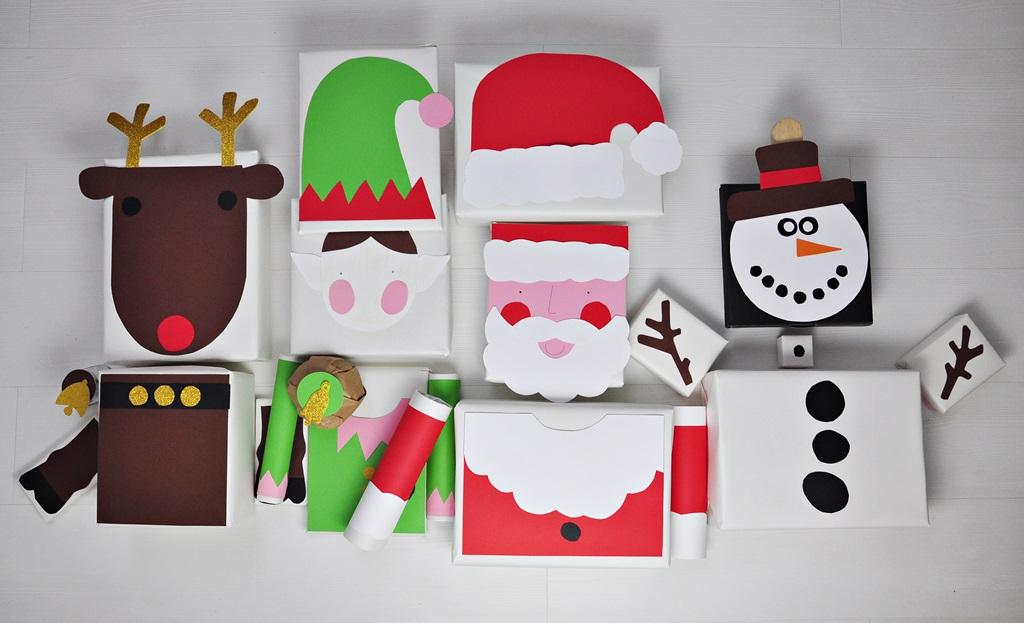 jak fajnie zapakować prezent święteczny w 4 postacie