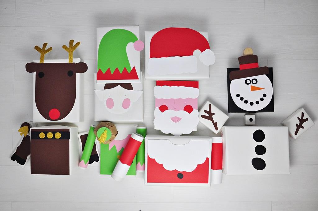 pomysł na zapakowanie prezentu na święta