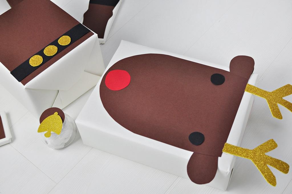pomysł na pakowanie prezentów świątecznych