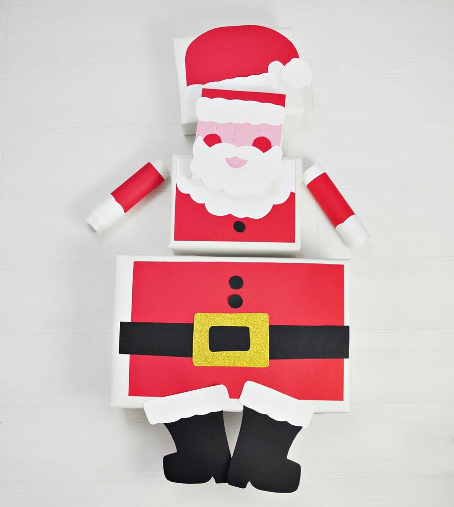 Pakowanie prezentów na święta Bożego Narodzenia