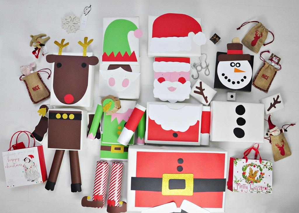 Pakowanie świątecznych prezentów – coś co bardzo lubię!