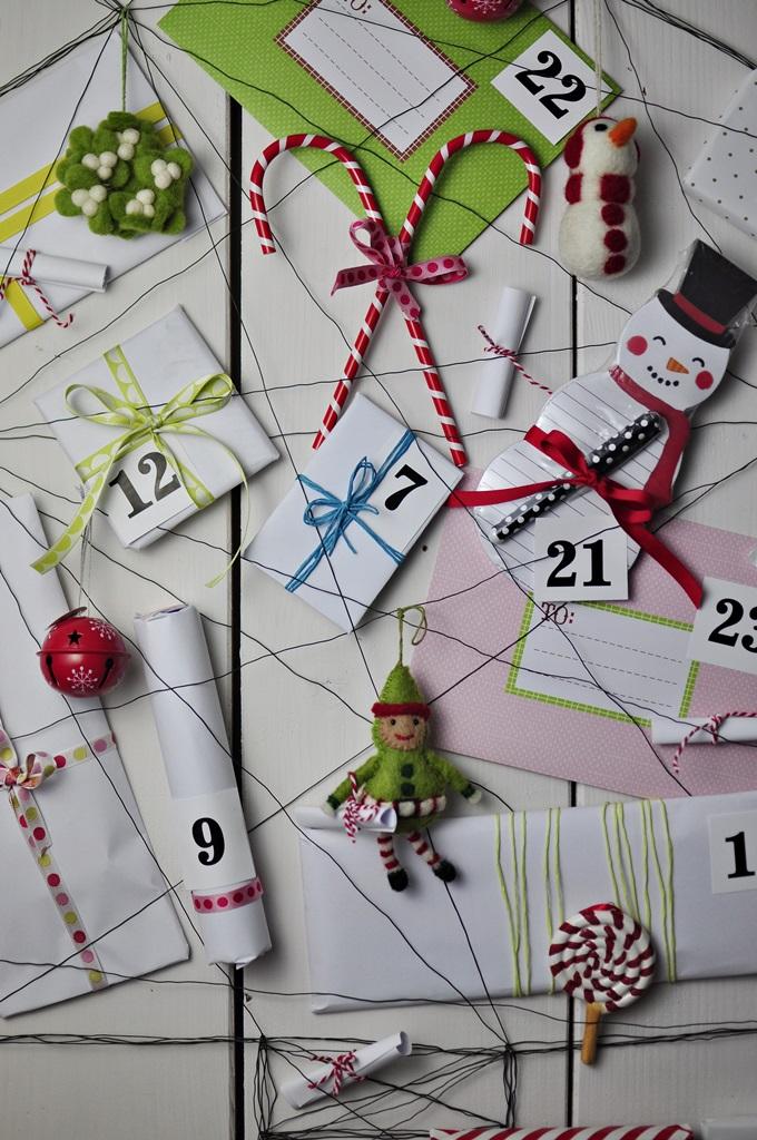 pomysł na ciekawy kalendarz adwentowy