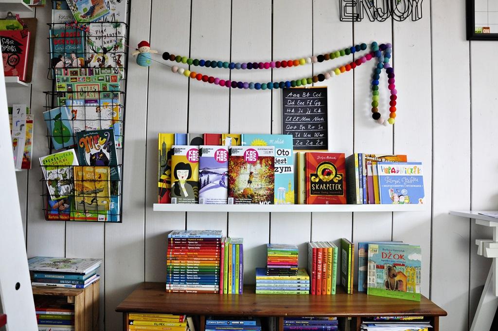 Serie książek dla Dzieci i cd naszej domowej dziecięcej biblioteczki