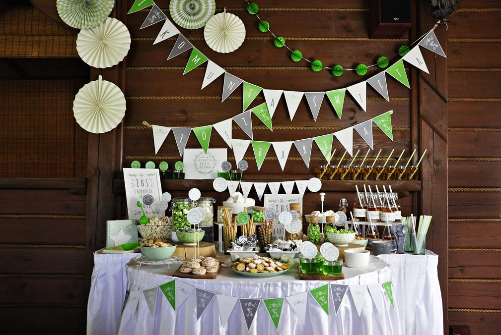 Jak samemu przygotować słodki stół na przyjęcie KOMUNIJNE