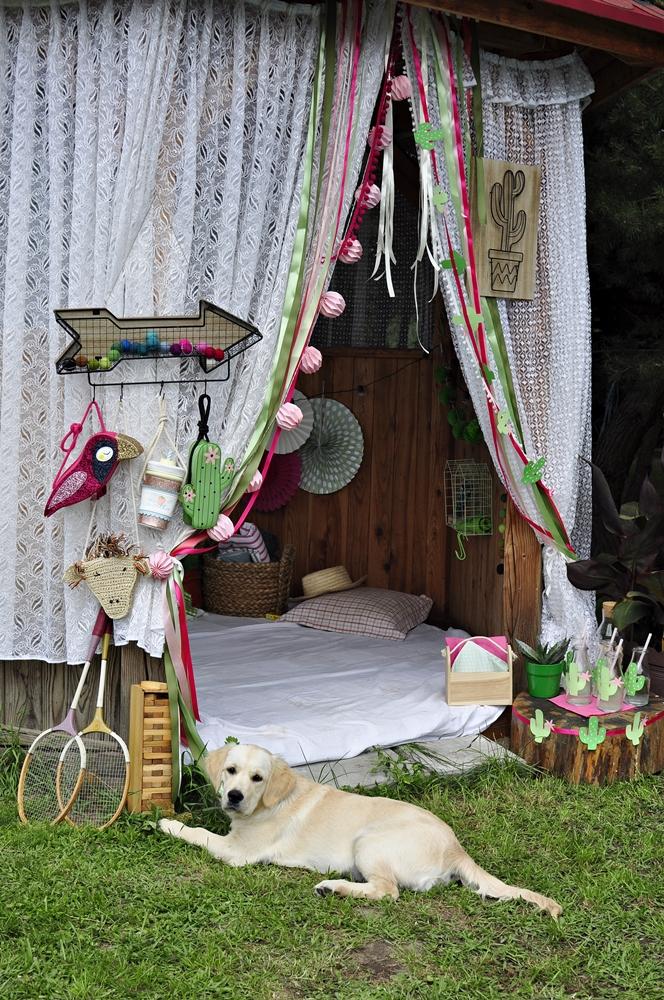 zabawy dla dzieci w ogrodzie
