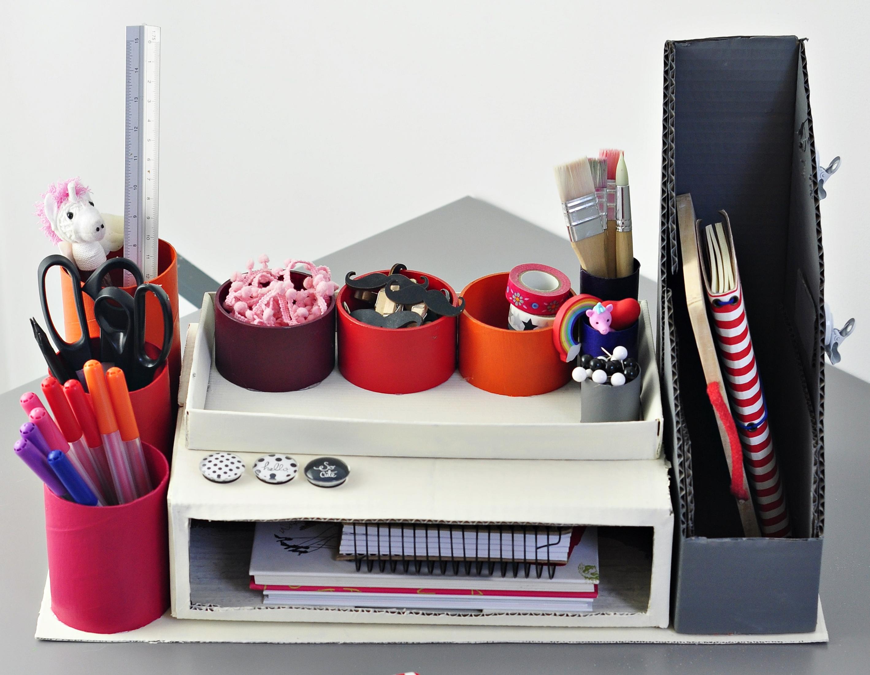 Organizer na biurko ucznia – czemu nie zrobić go samemu :)?