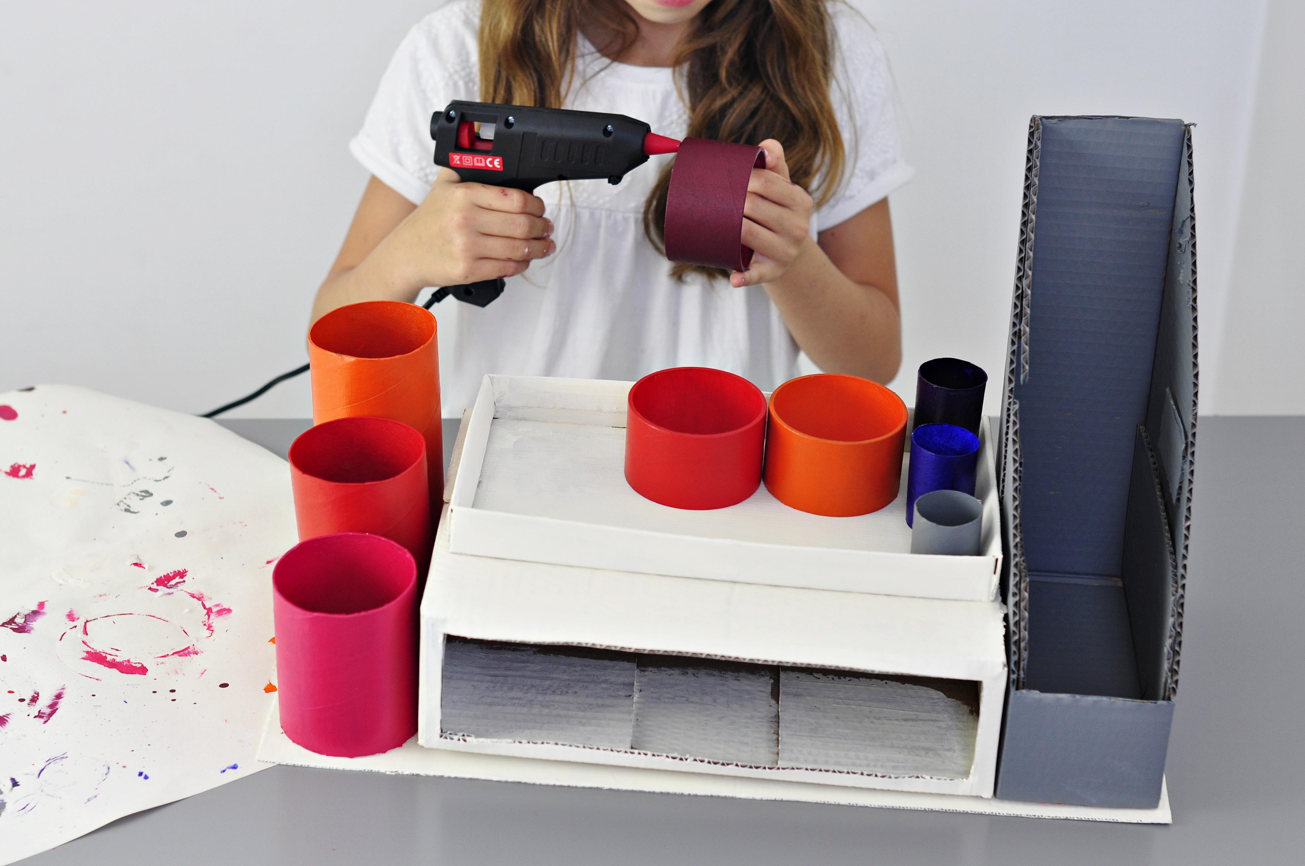 jak samemu zrobić organizer na biurko