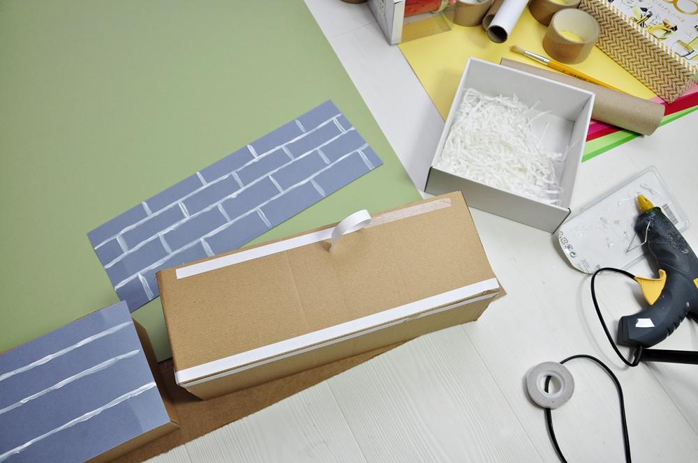 co można zrobić z kartonu
