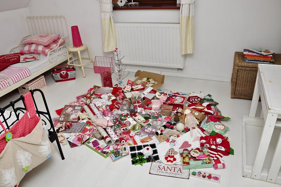 zbiór prezentów do kalendarza adwentowego