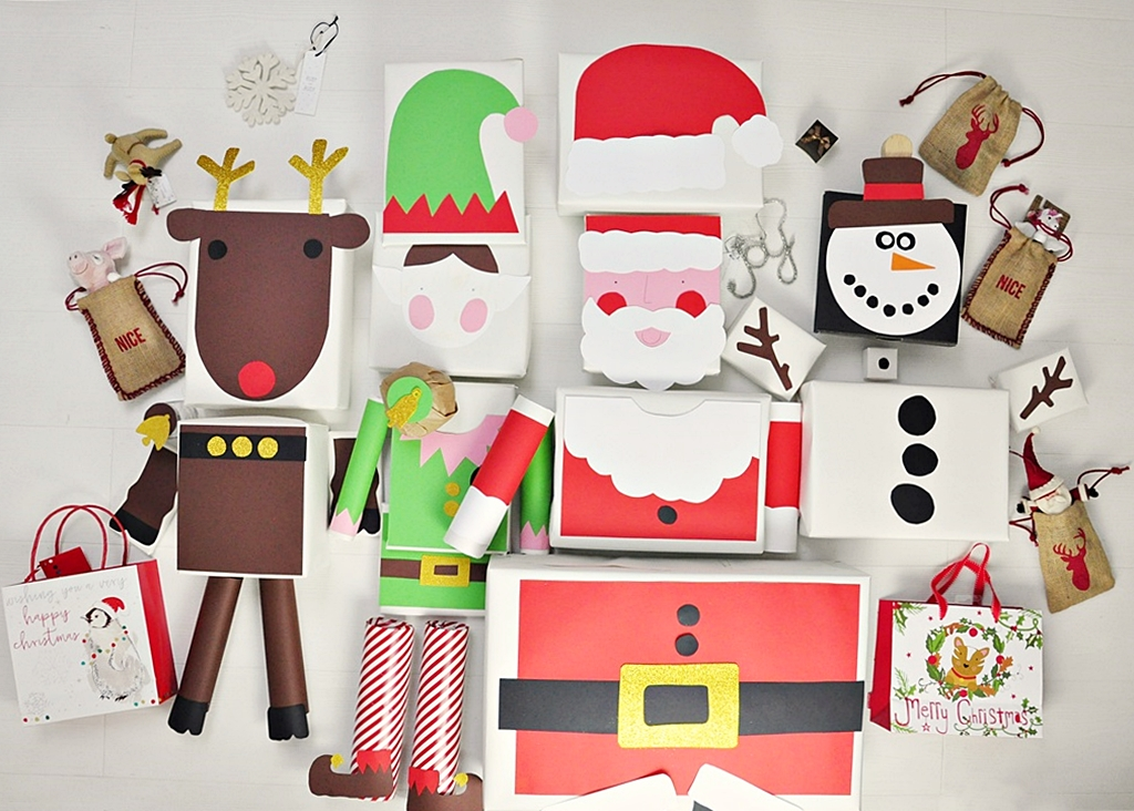 pakowanie prezentów w papier