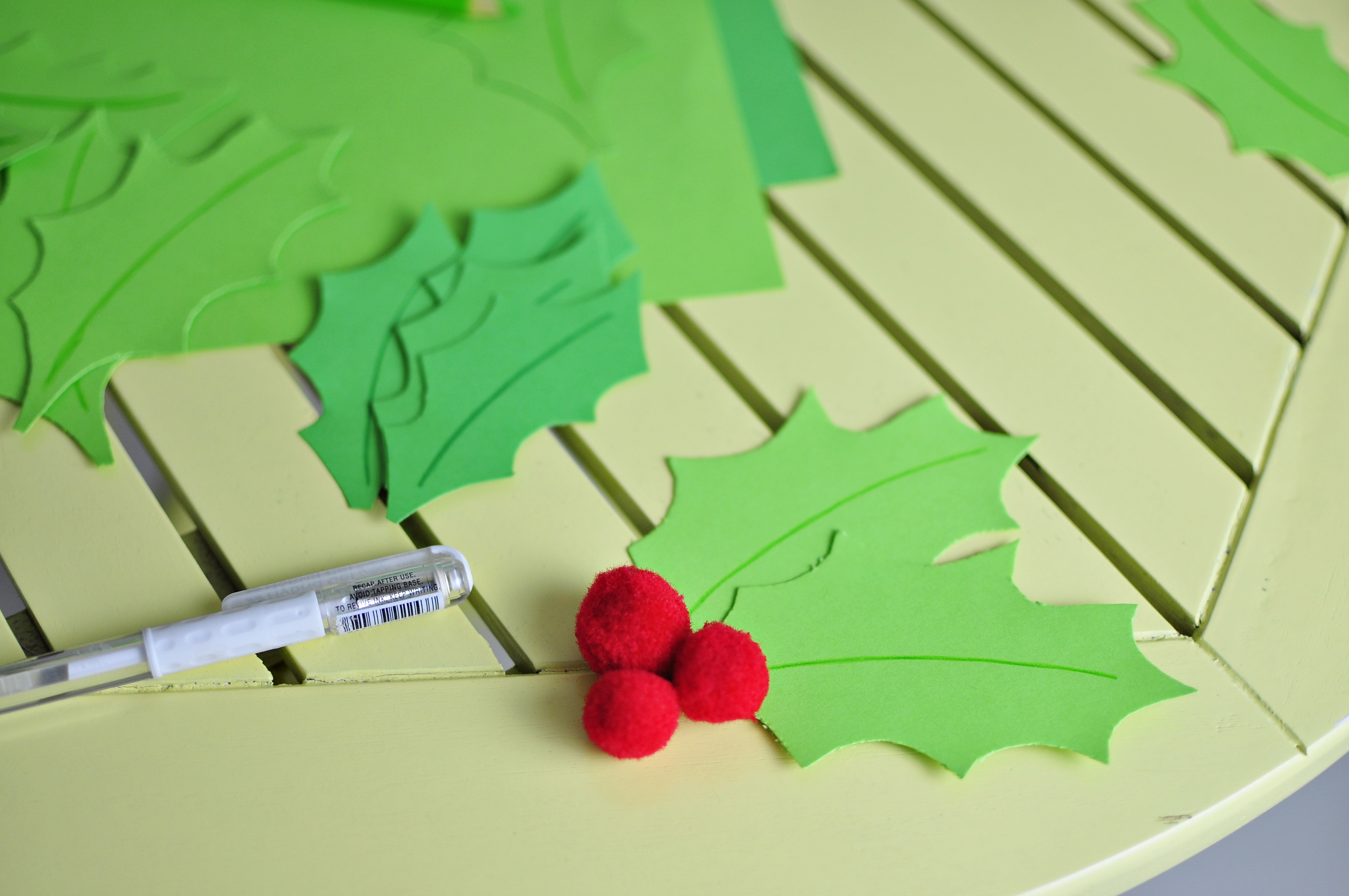 dekoracje stołu Boże Narodzenie