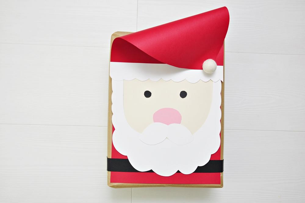 jak zapakować prezent pod choinkę - Mikołaj