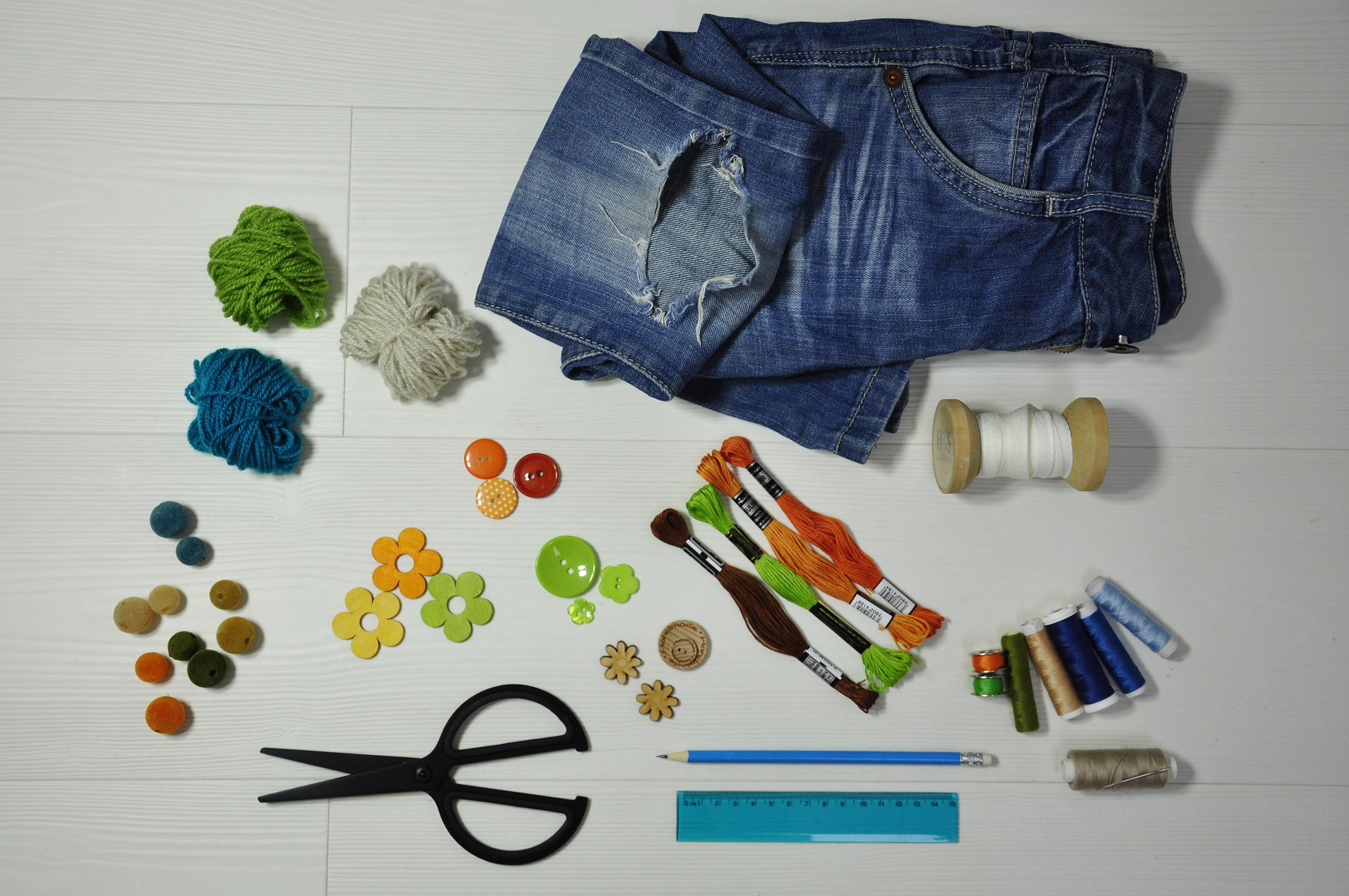 Torba ze spodni dżinsowych - co jest potrzebne