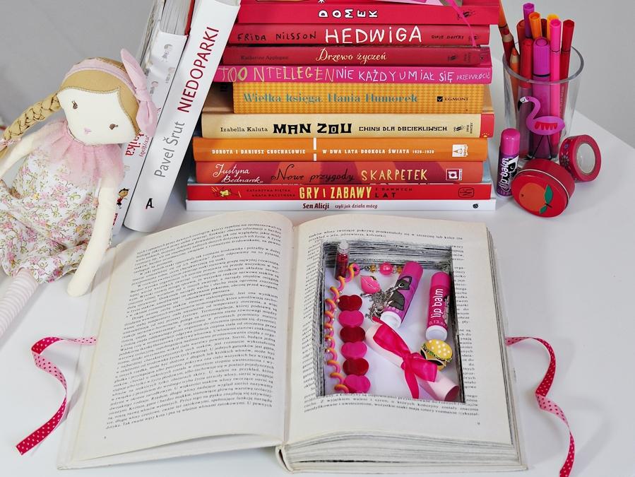 Zrób to sam – skrytka w książce; na mniejsze i większe dziecięce skarby