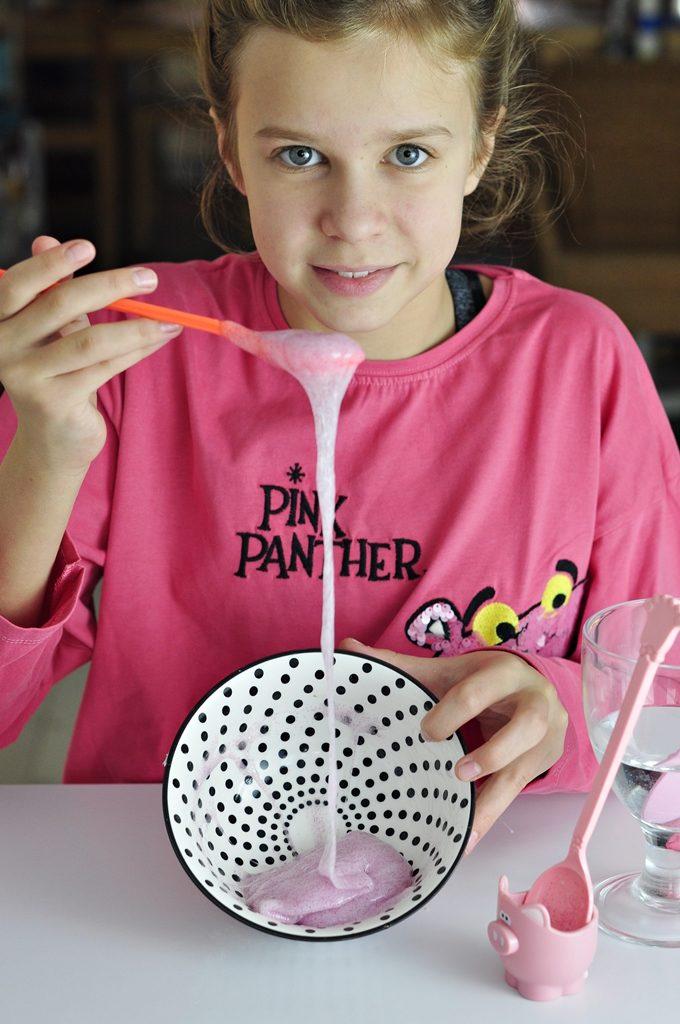 diy dla dzieci - robienie slime