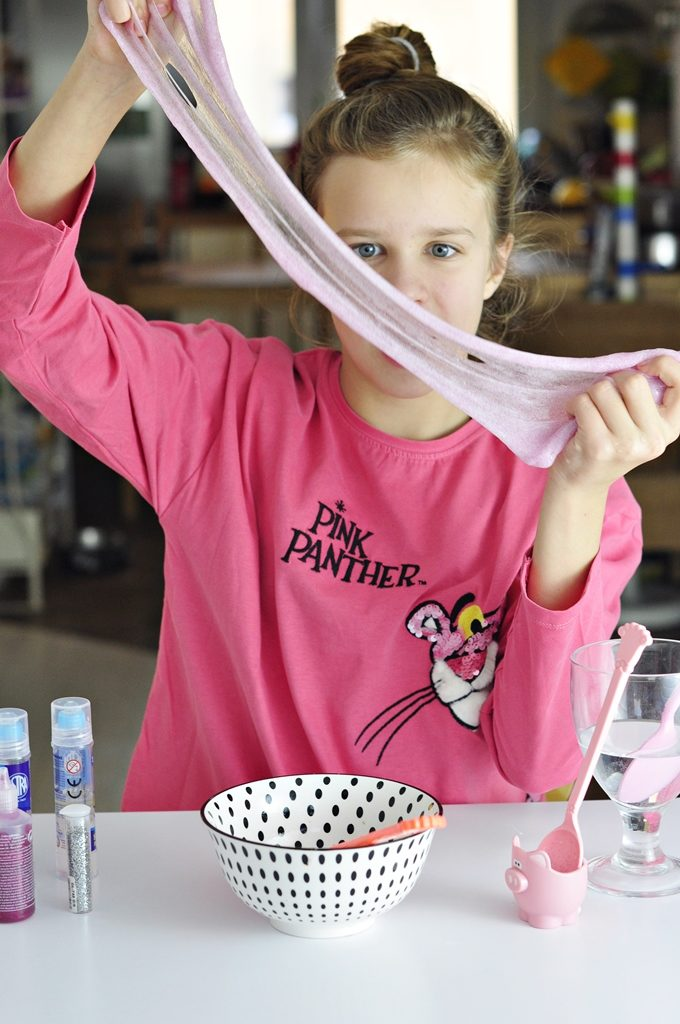 jak zrobić slime w domu