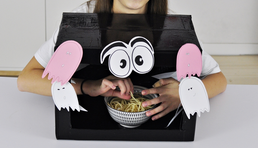 Zabawy dla dzieci w domu – pudełko zgadywanka