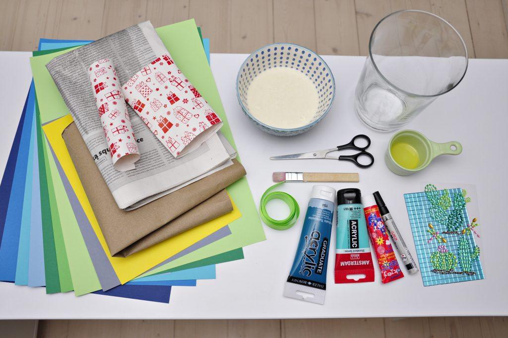 Co przygotować do zrobienia maski karnawałowej z papieru