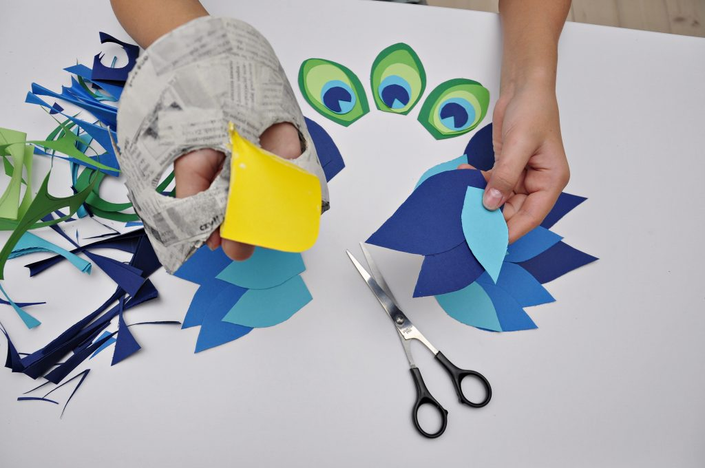 Maska z papieru