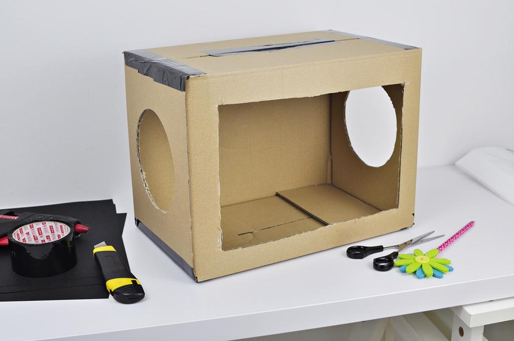 magiczne pudełko jak zrobić