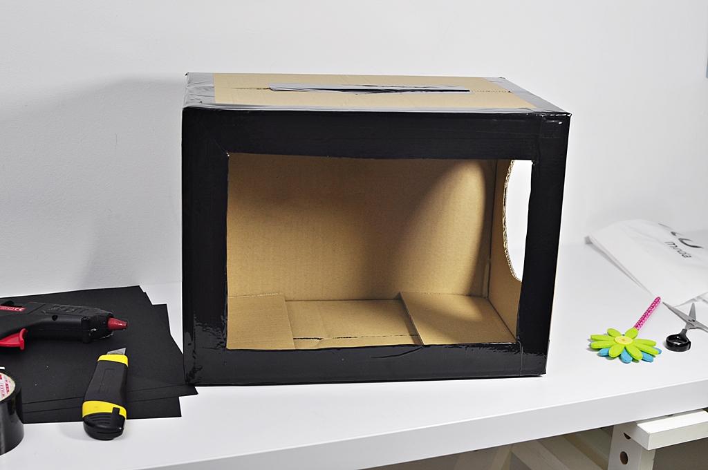 pudełko zmysłów jak zrobić