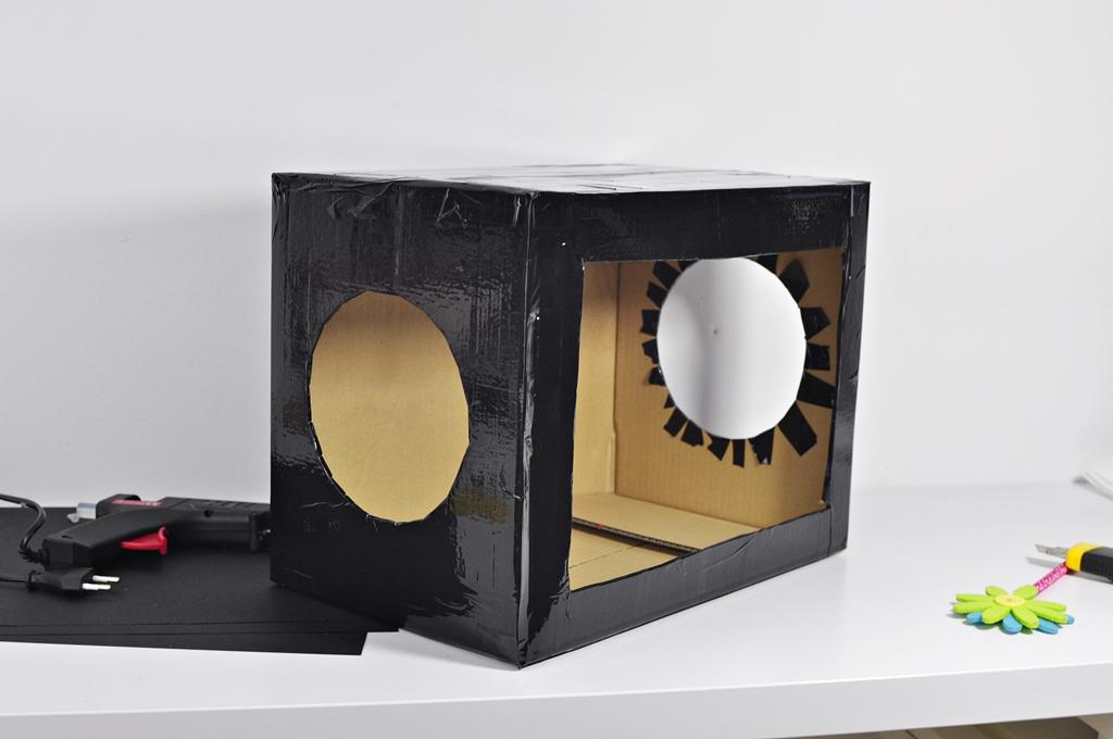 pudełko zgadywanka dotyk