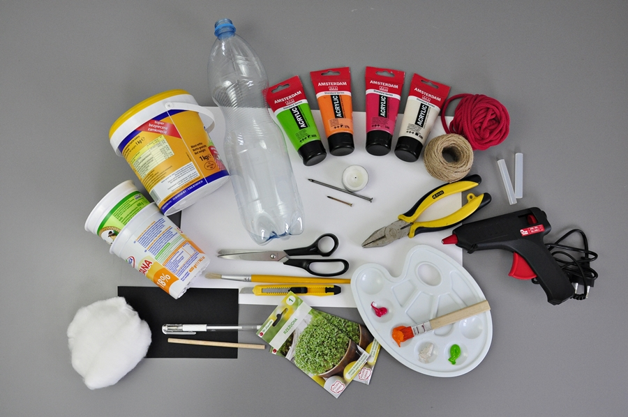 Co można zrobić z butelki plastikowej