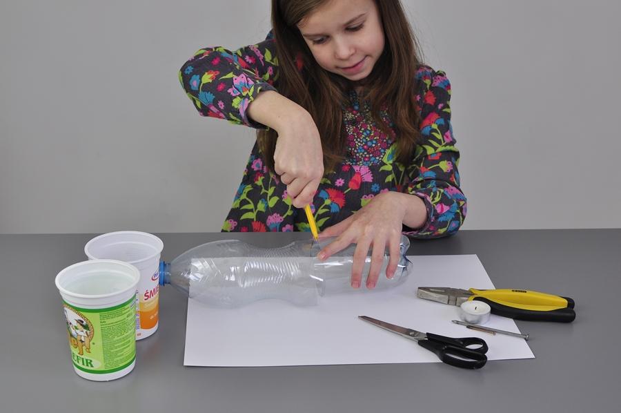 co można zrobić z plastikowych butelek