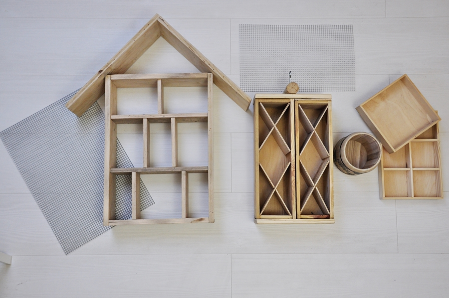 jak zrobić domek dla owadów