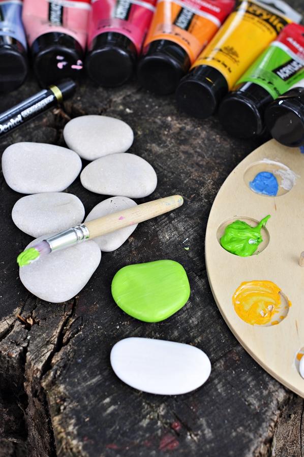 malowanie kamieni krok po kroku
