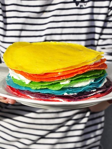 tort naleśnikowy na słodko