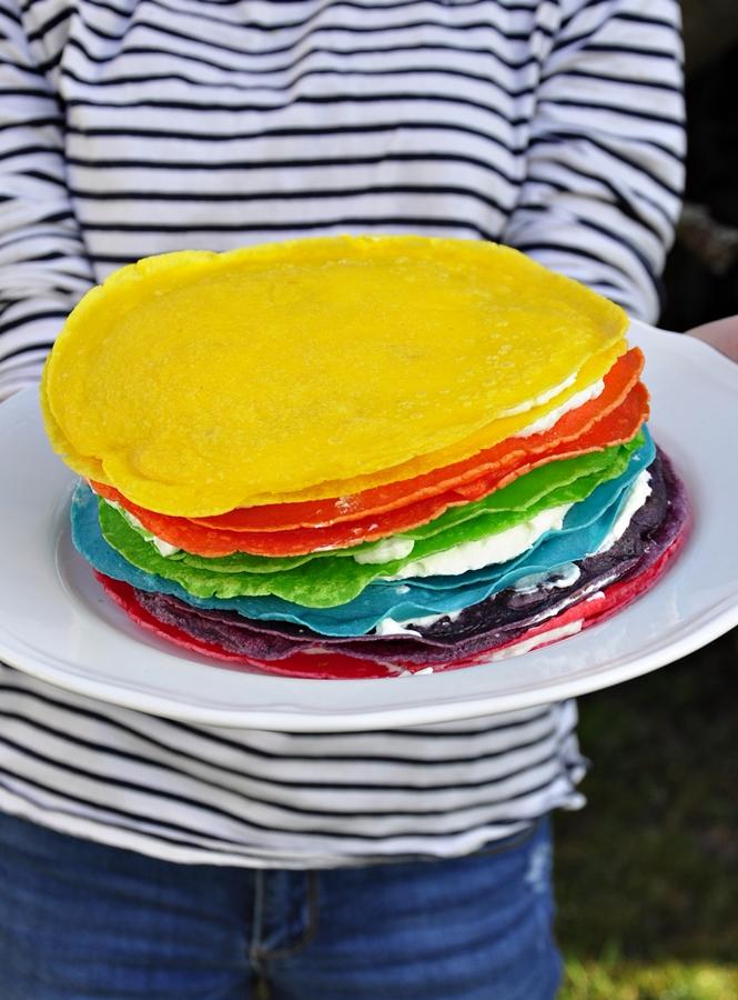 przepis na tort naleśnikowy