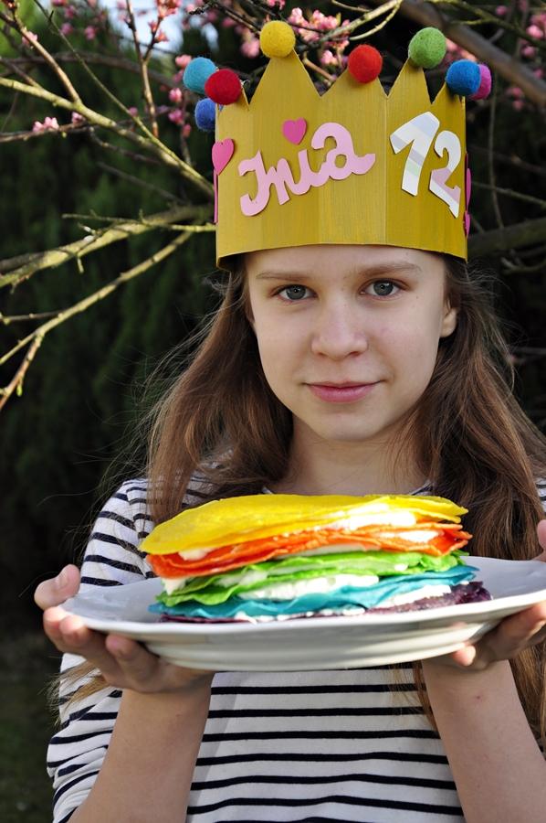 Korona z papieru na Urodziny lub inne okazje