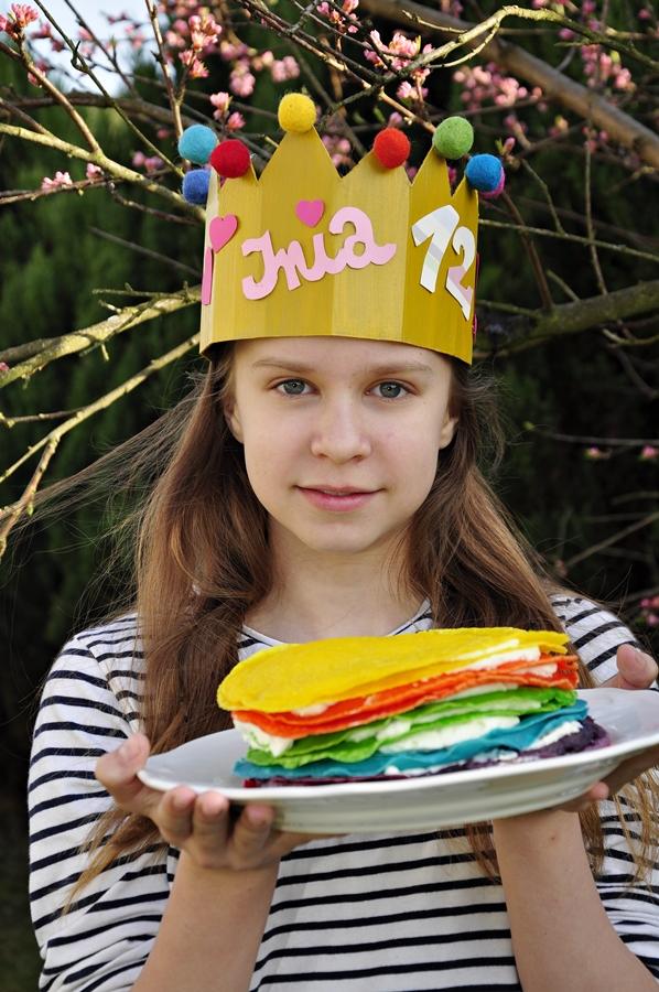 korona z papieru dla dzieci