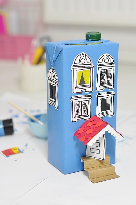 jak zrobić zabawkę z recyklingu