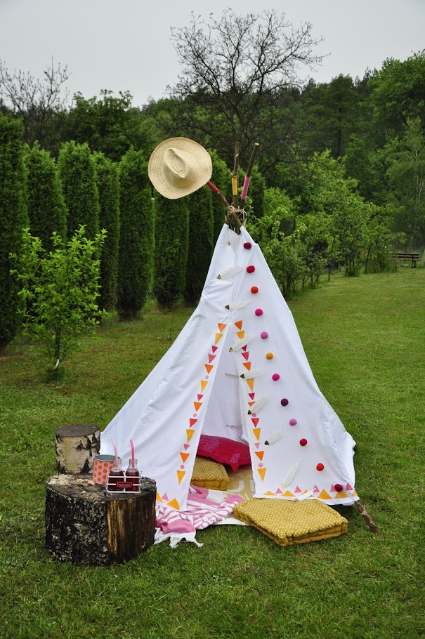 namiot dla dzieci tipi