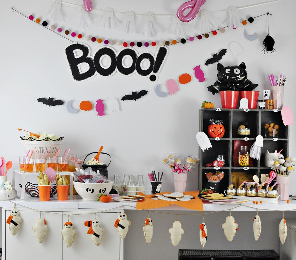 Przekąski na halloween – Straaasznie słodki stół ;)