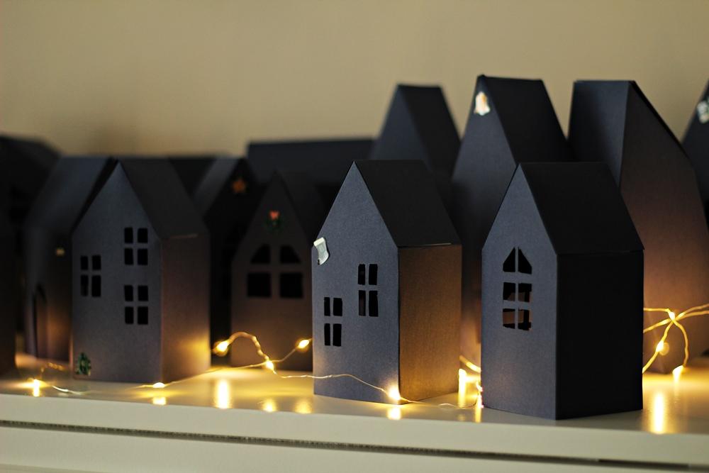 szablony domków z papieru