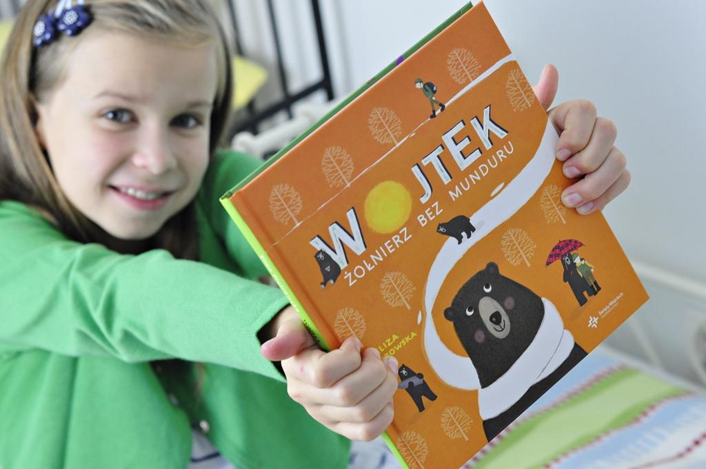 jaka książka dla dziecka - Wojtek żołnierz bez munduru