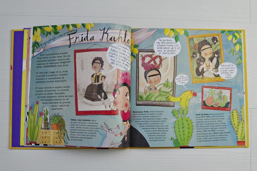 książka o fridzie kahlo