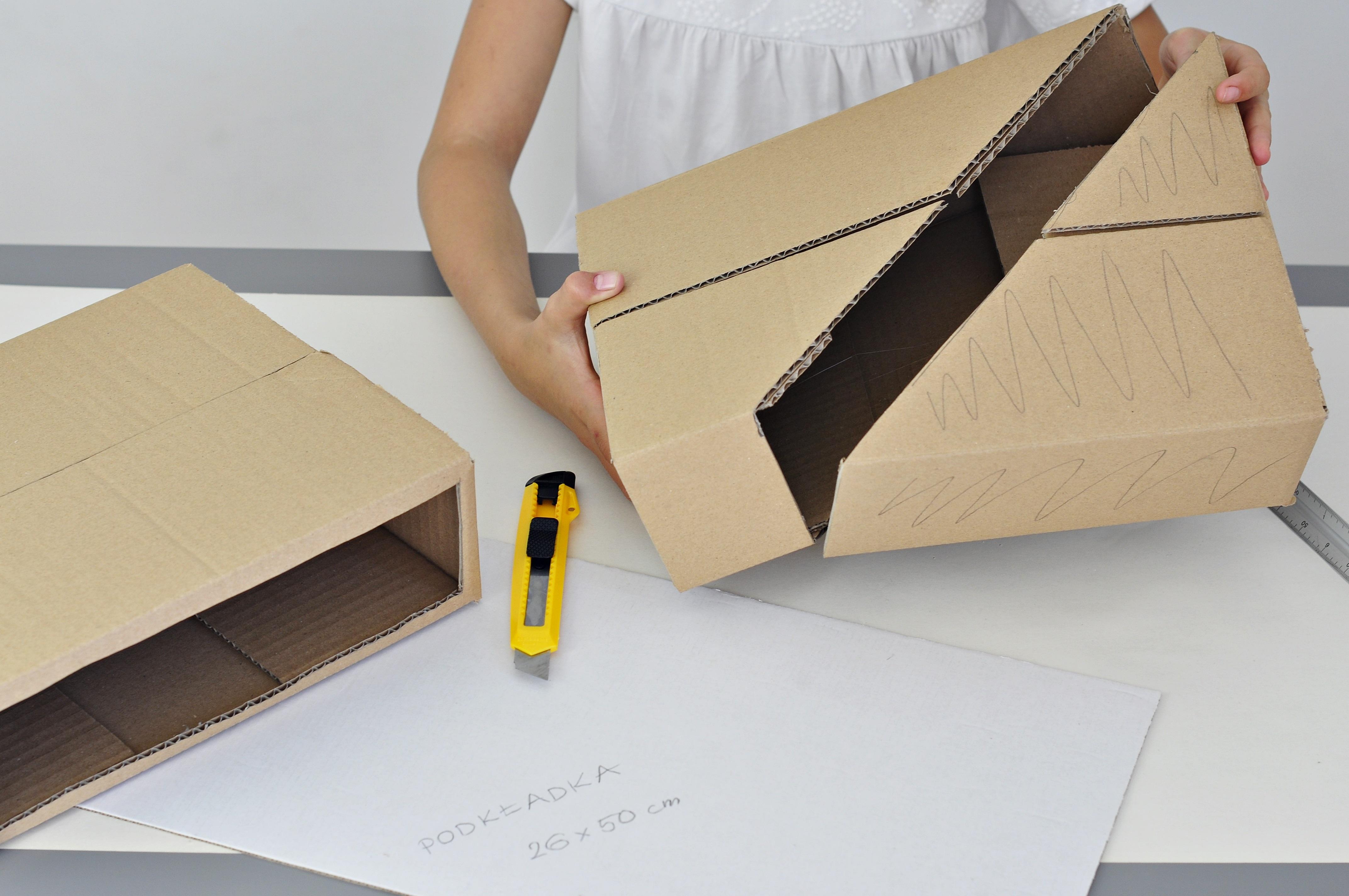jak zrobić przybornik na biurko - instrukcja