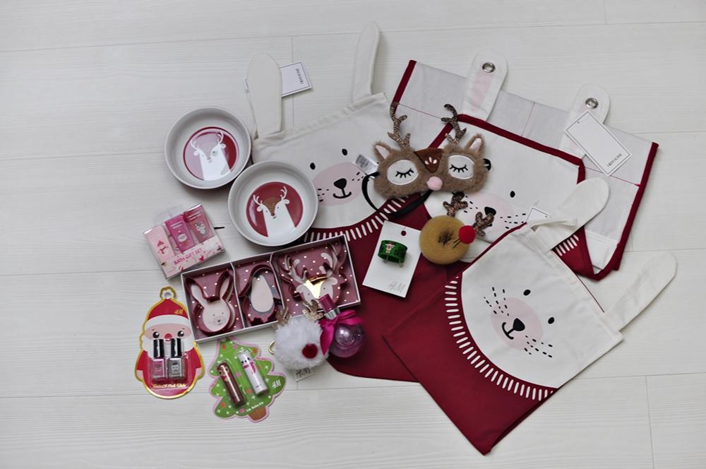 świąteczne prezenty z H&M